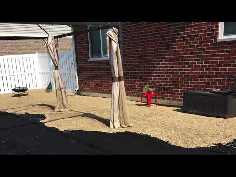 How to lay a Gravel Patio (DIY OUTDOOR PATIO)