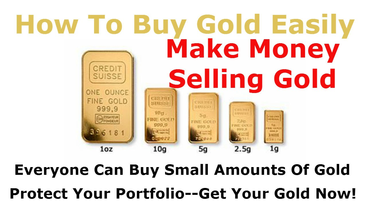 Make Money Ing Gold Bars 1 Gram 2 5 And You