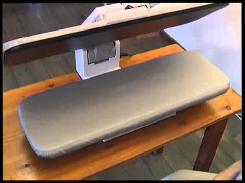 Blanca Press Commercial Ironing Press Demonstration DVD