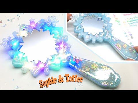 [13+] S&T Snowflake Mirror- The Elves Box- Resin crafts- DIY- Tutorial