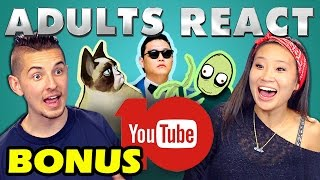 Adults React to YouTube's 10th Anniversary (Bonus #1)