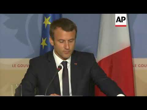 Macron in Luxembourg, comments on banking secrecy