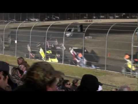 USCS Sprint Cars at Magnolia Motor Speedway for the Frostbuster 250