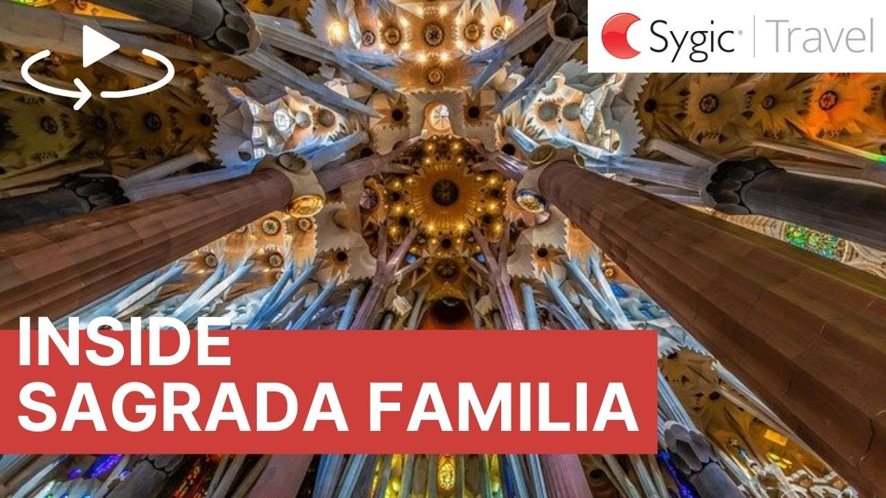 360 video Sagrada Familia Interior Barcelona Spain YouTube