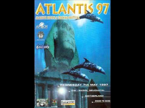 DJ Snowman live at Atlantis 1997, Neuchatel