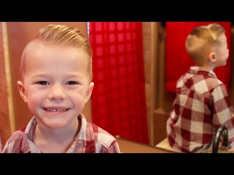 Handsome Boys Cut and Style