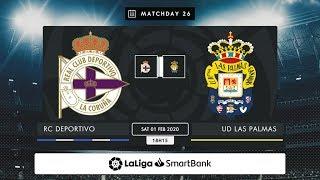 RC Deportivo UD Las Palmas MD26 S1815