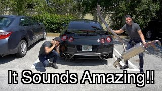 Mod To Make The GTR Sound Like A Supercar!
