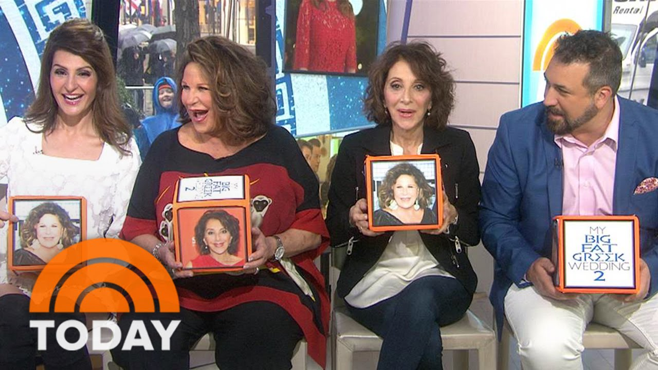 My Big Fat Greek Wedding Cast.My Big Fat Greek Wedding 2 Stars Reveal Who Made The Most Bloopers Today