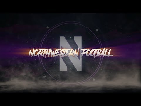 2017 Northwestern Football - Entrance Video