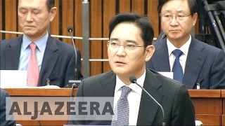 Samsung's heir arrested in South Korea