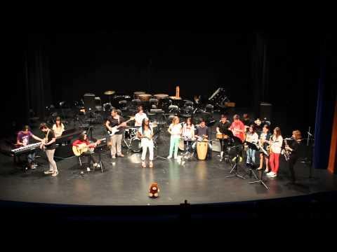 Combo de l'Escoles de Música Pasqual Rubert de Borriana i Robert Gerhard de Valls (Tarragona)