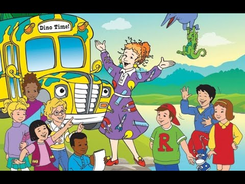 Волшебный школьный автобус 1 сезон 1 серия