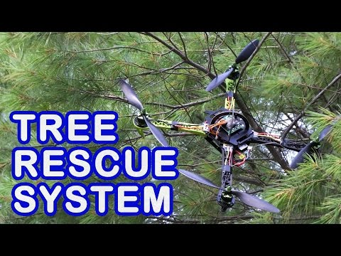 How To Recover Drones Or Other Things Stuck High Up In A Tree!