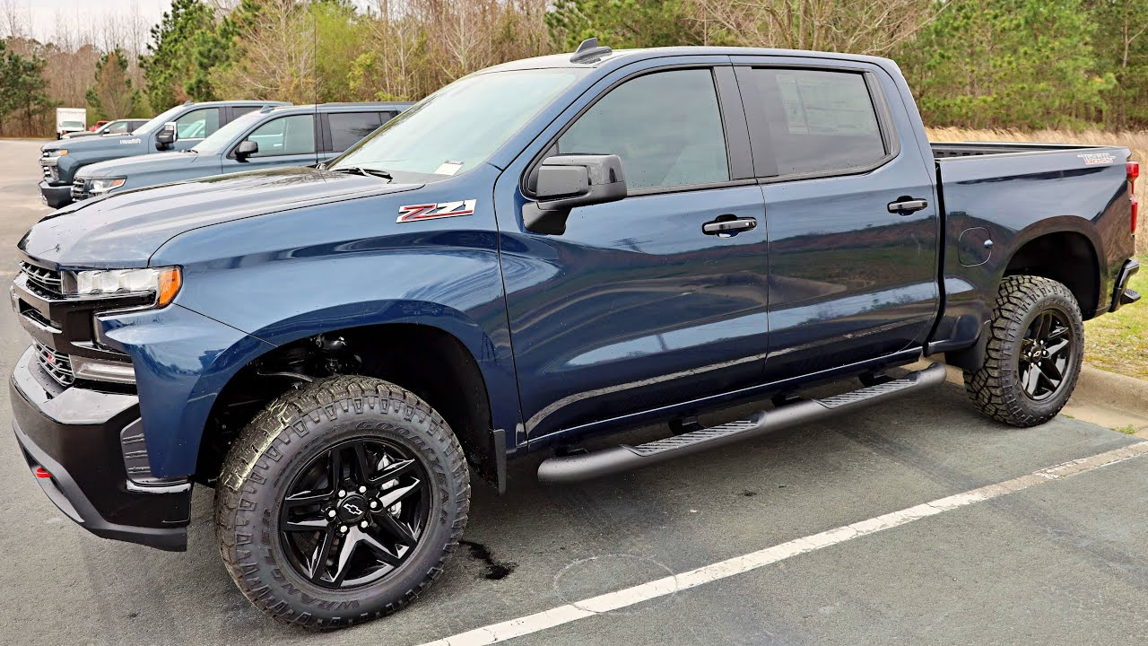 2020 Chevy trail boss: Northsky Blue - YouTube