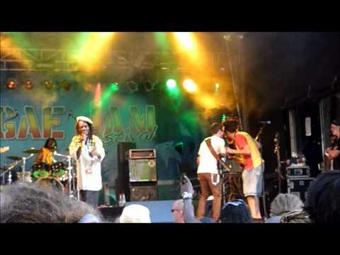 Sylford Walker & Prince Alla live with the Moonband,Reggaejam,Bersenbrück,Germany,02 08 2014