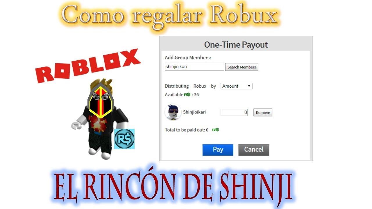 Como Donar Robux Youtube