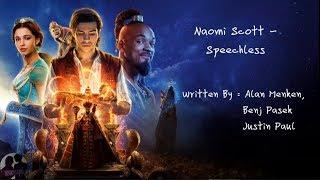 Naomi Scott - Speechless Lyric (Aladdin Soundtrack)