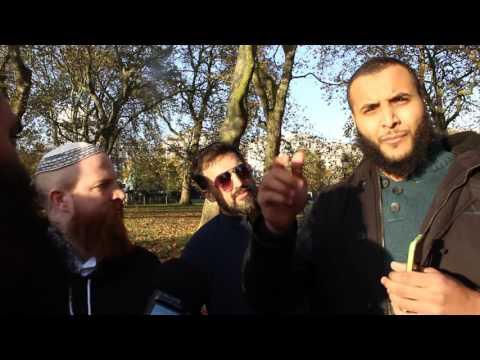 Frantic Zionist Lobby Leader vs Muslim    Br. Mohammed Hijab