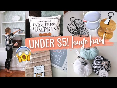 INSANE DOLLAR SPOT FALL HAUL 2019! 😱 🎯 Decorate with me!