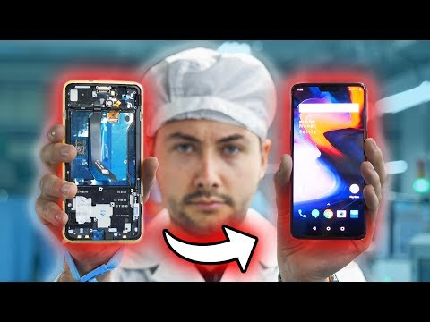 Les Secrets de Fabrication d'un Smartphone ! (Visite d'Usine)
