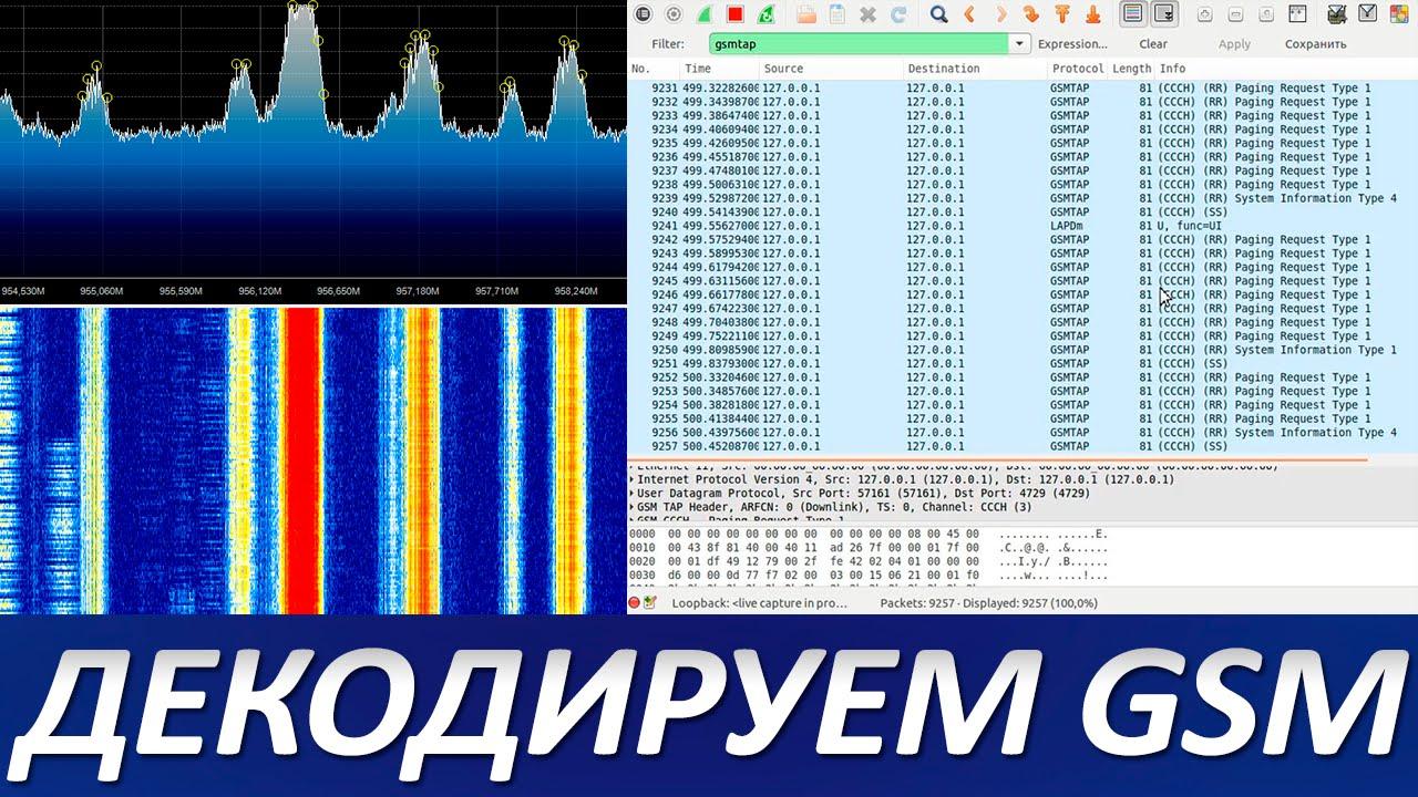 Декодируем GSM с использованием HackRF One и GR-GSM