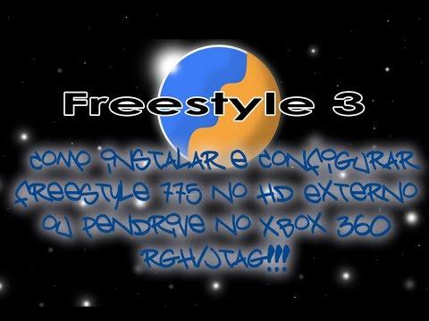 Como instalar e configurar freestyle 775 no hd externo ou for Hd esterno xbox 360