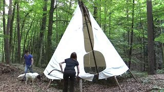 Setting Up A Tipi