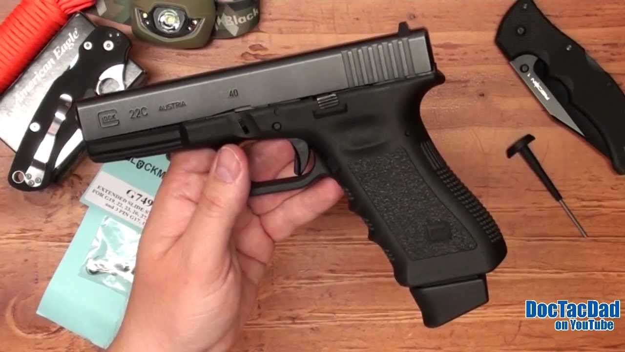 Project Glock Extended Slide Stop Youtube