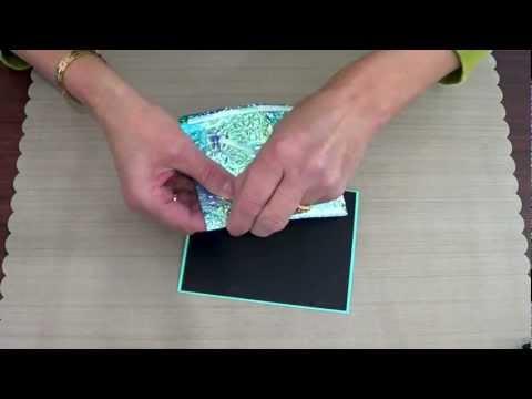 Elizabeth Craft Designs - 5 Minute Card Shimmer Sheetz