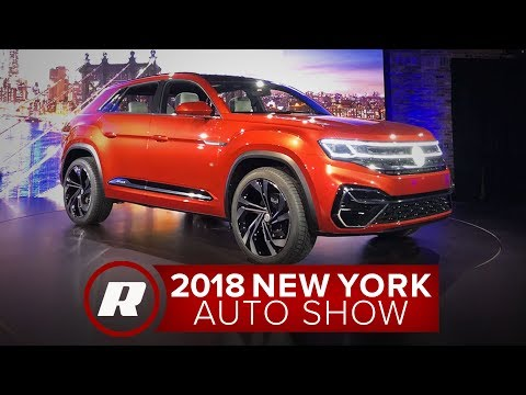 VW Atlas Cross Sport plug-in hybrid is all set for production | 2018 NY Auto Show