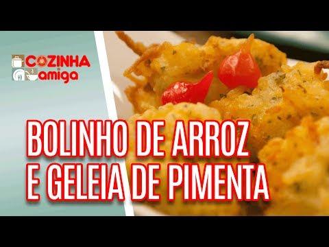 Bolinho De Arroz Crocante E Geleia De Pimenta  - Gabriel Barone | Cozinha Amiga (17/04/18)