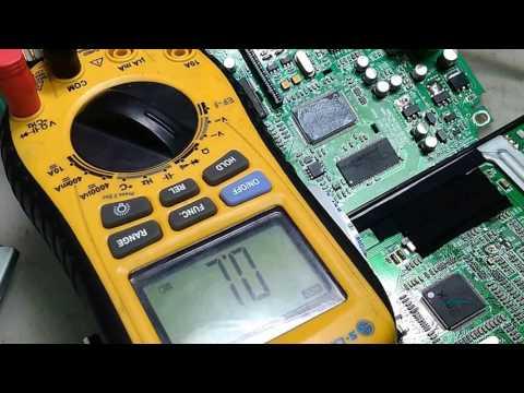 ремонт магнитолы Mystery Mdd-6240s после другого мастера, нет изображения