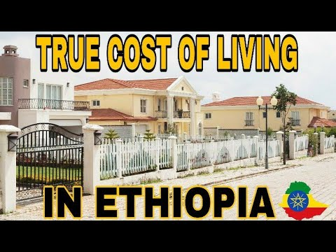 Cost Of Living In Ethiopia Africa  (Addis Ababa) Compared To USA