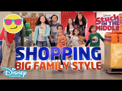 Stuck In The Middle | Stuck In The Store: Operation Mega Mart | Official Disney Channel UK