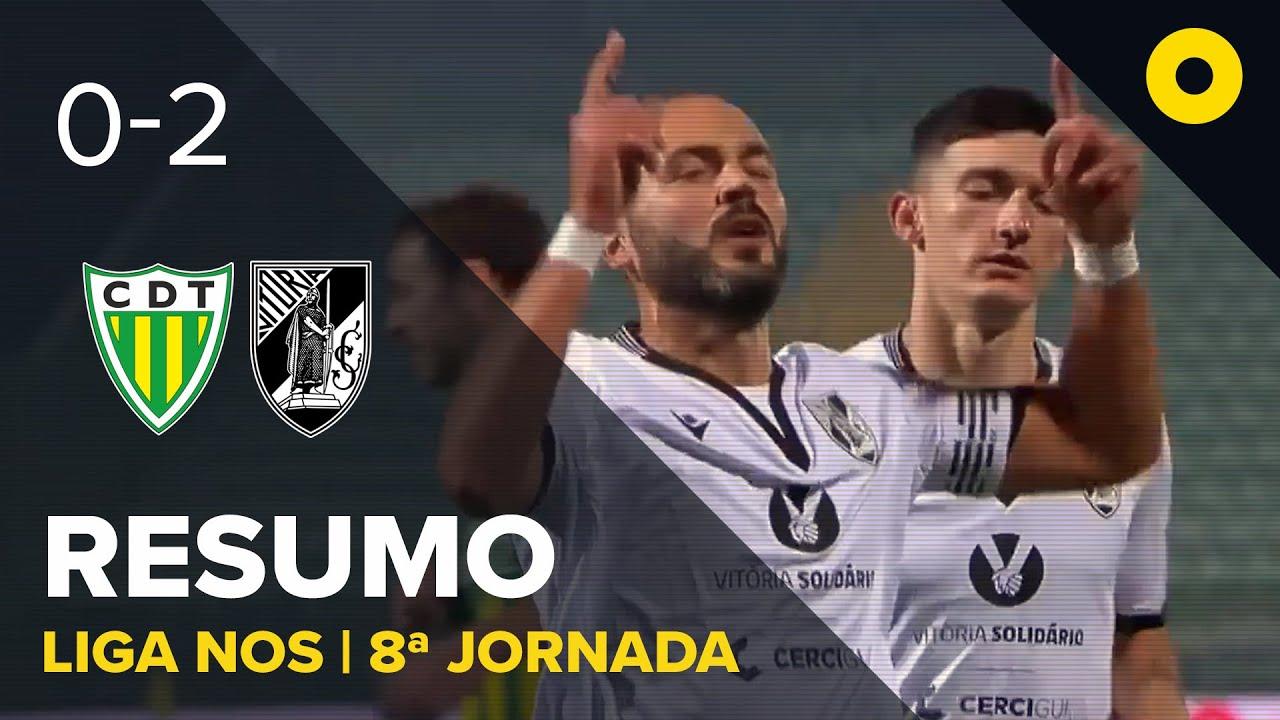 Тондела  0-2  Витория Гимарайнш видео