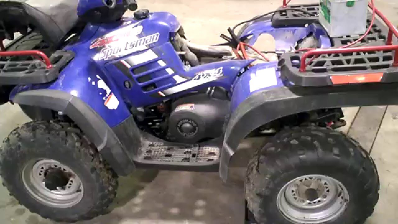 Lot 2384a 2004 Polaris Sportsman 400 4x4 Tear Down For