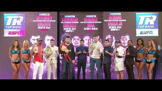Full Top Rank Fall Preview Press Conference
