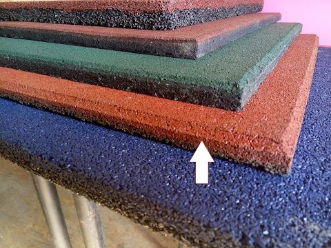 Резиновая Плитка. Как правильно выбрать плитку из резиновой крошки. Обзор поставщиков