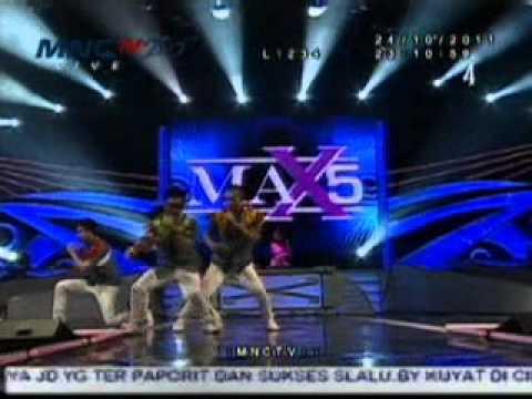 [panggung Bintang Lets Dance MNCTV] MAX5 - Cinta Rahasia