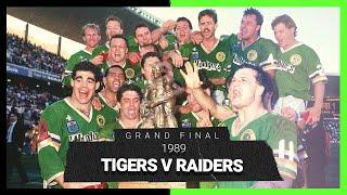 Tigers v Raiders | Grand Final 1989 | Full Match Replay | NRL