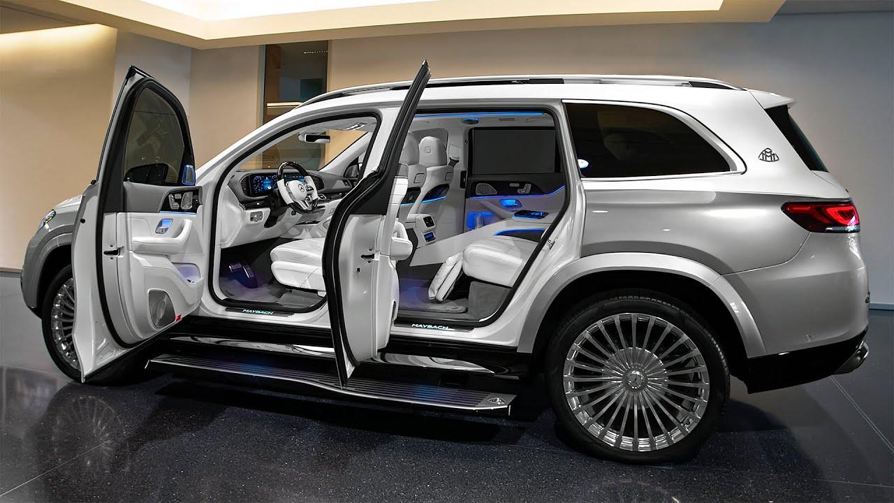 2021 Mercedes-Maybach GLS 600 - Gorgeous Luxury SUV in details