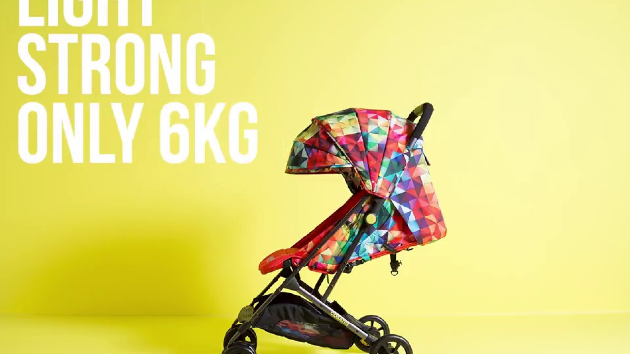 Cosatto Woosh - The Perfectly Portable Pushchair