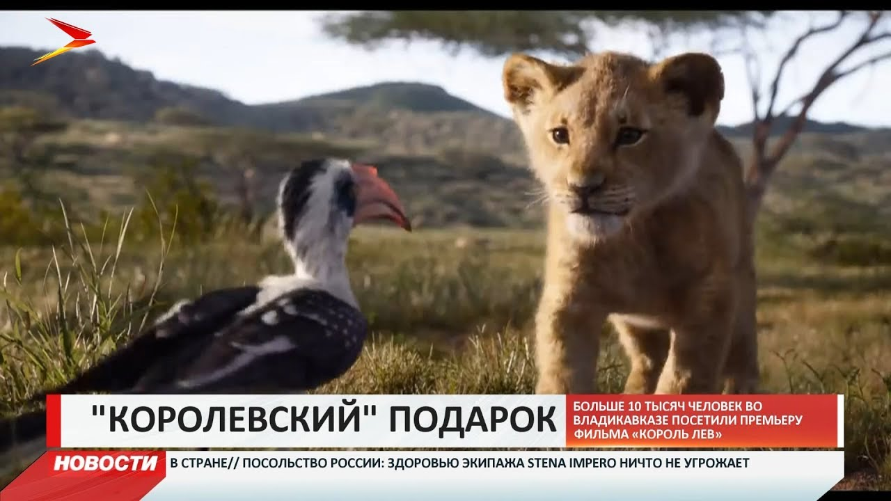 Больше 10 тысяч человек во Владикавказе посетили премьеру фильма «Король Лев»