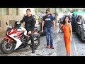 Grand Royal Entry Of akshay kumar, ajay devgan, katrina kaif For suryavanshi trailer Launch