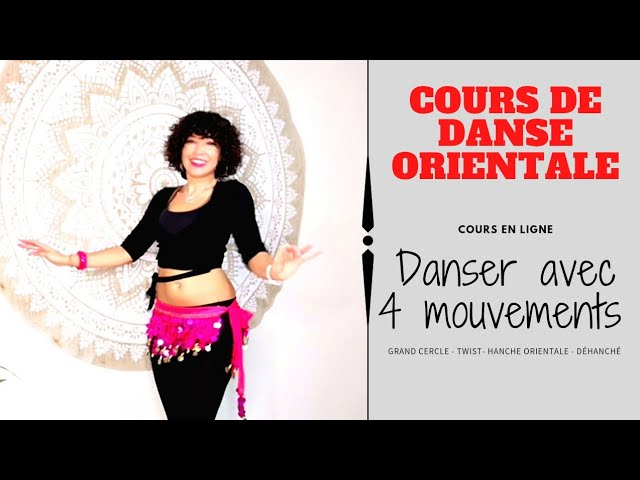 Créer ta danse avec ces 4 mouvements