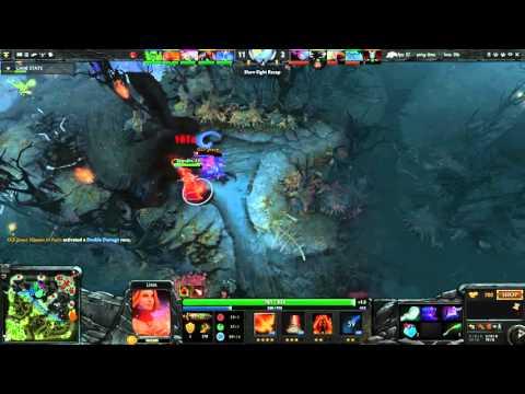 dota 2 replay 47 lina match dkt vs olf youtube