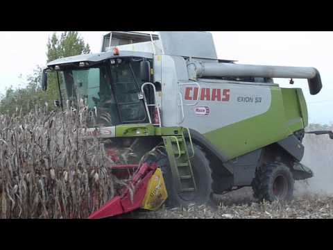 AGRIMAC - Claas Lexion 530 Mais 2010 Video 1