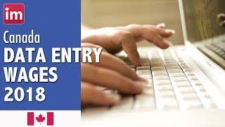 Data Entry Clerk Salary in Canada | Jobs in Canada (2017)
