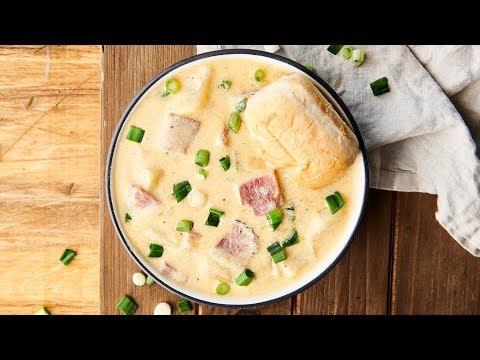 Ham And Cheese Potato Soup